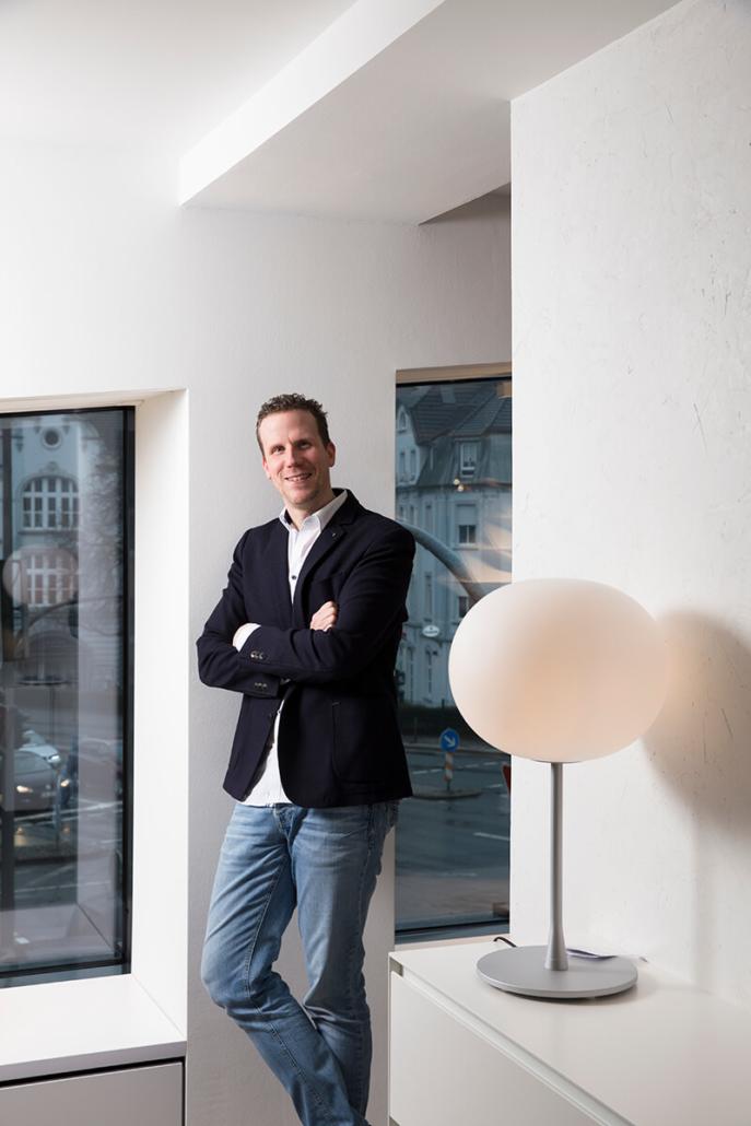 raumideen-Store Manager Alexander Stein