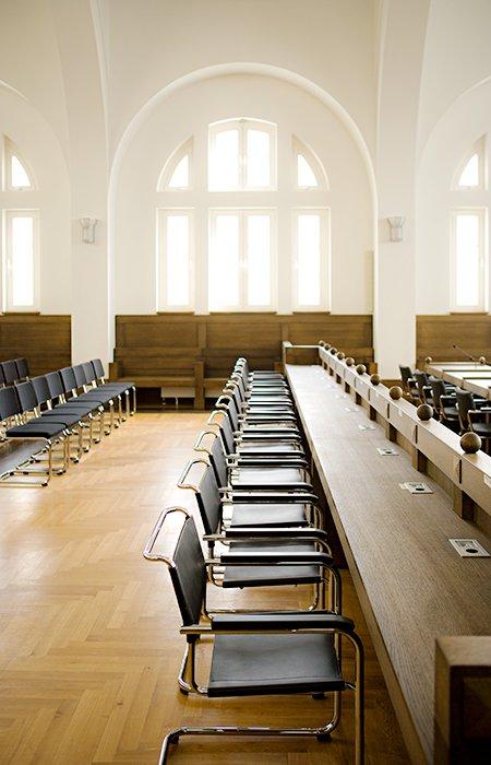raumideen Thonet GmbH, CITÉ JUDICAIRE