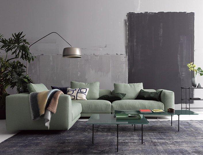 raumideen cor moss sofa