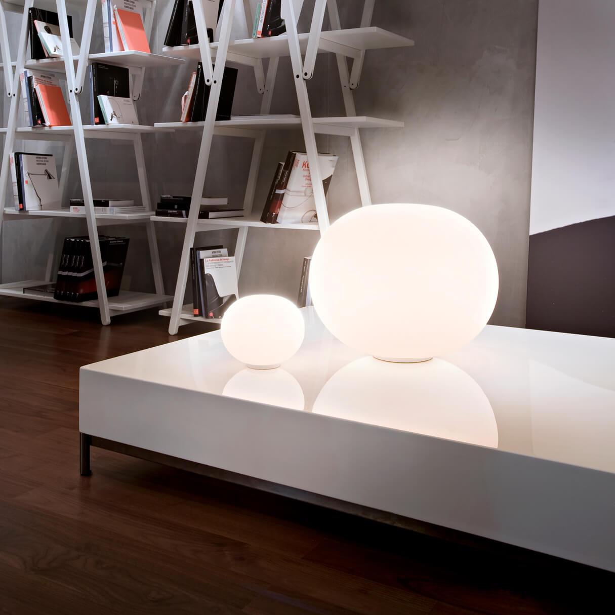 Wand- oder Deckenleuchte Mini Glo-Ball von flos