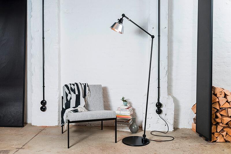 Midgard Licht Floor lamp Modular Alu