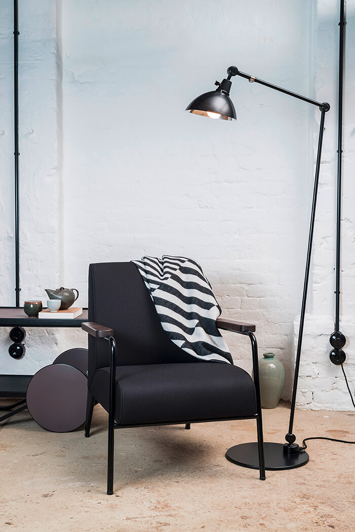 Midgard Licht Floor lamp Modular lampshade