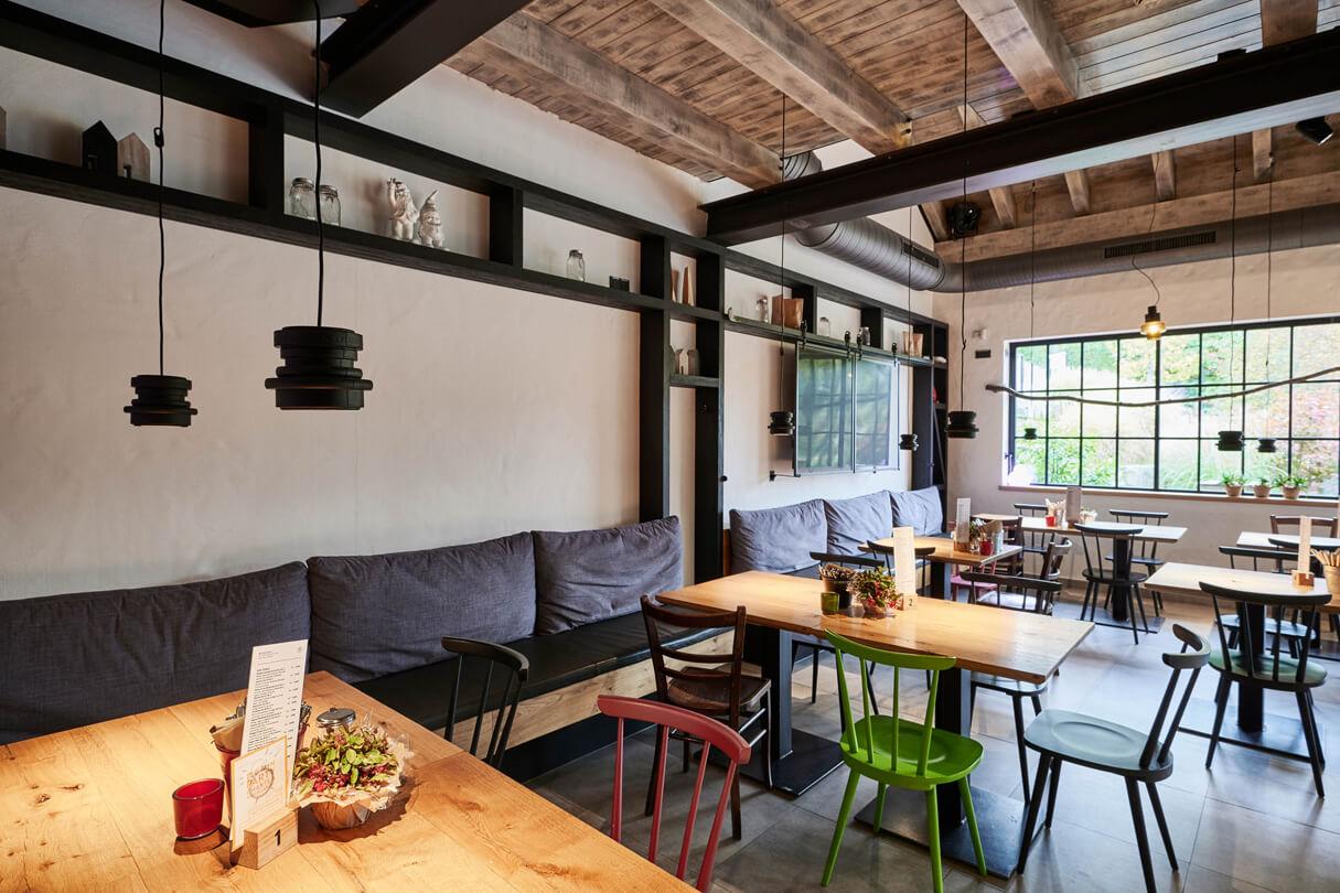 Raumgestaltung Restaurant Wilde Ente