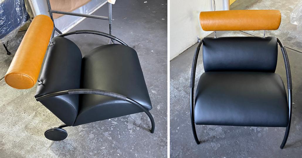 COR Sessel nach Komplettüberarbeitung