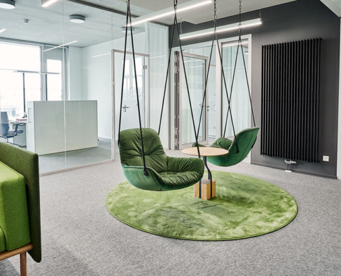 Moosgrüne Swingseats