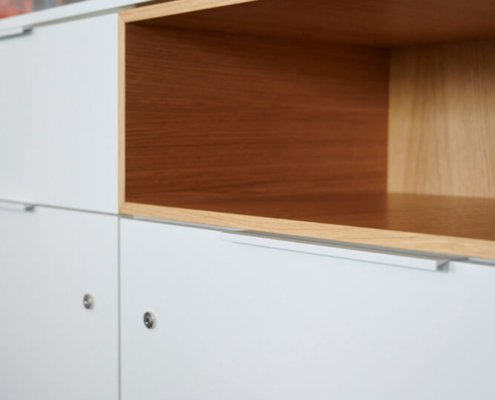 Sideboard mit Holzdetails
