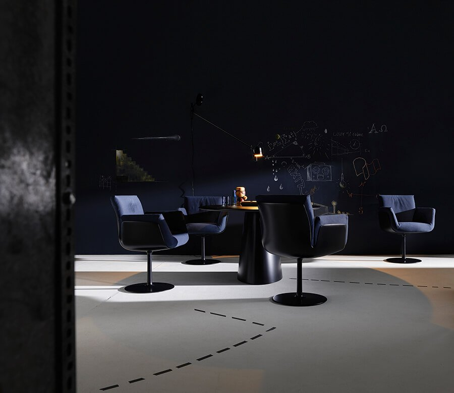 raumideen COR Alvo Stuhl schwarz