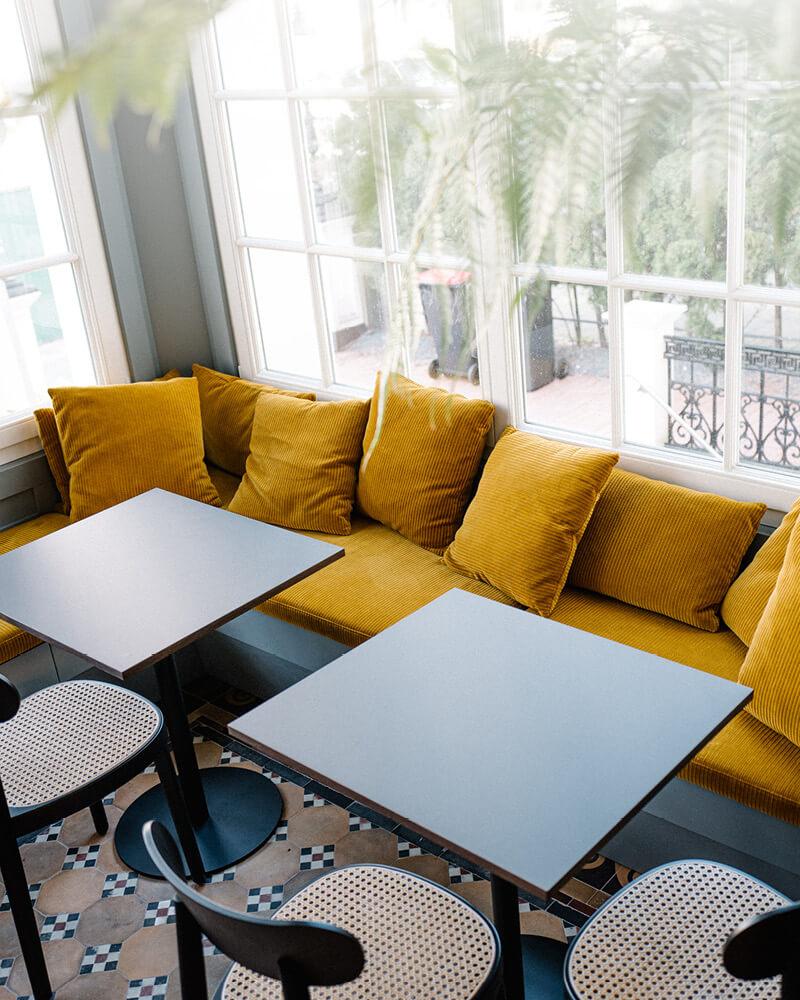 Stilwerkhotels Heimhude Fruehstuecksraum Foto: K. Sickinger