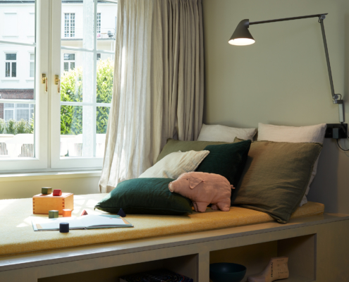 Stilwerkhotels Heimhude Appartement Lautsprecher: Inklang (c) stilwerk Foto: T. Baermann