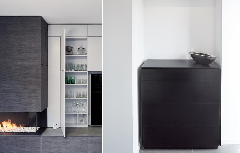 Maßanfertigungen aus den raumideen-Werkstätten bei Dortmund für individuelle Innenarchitektur-Konzepte.